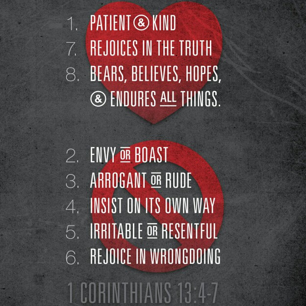 1 Corinthians 13-The Love Chapter