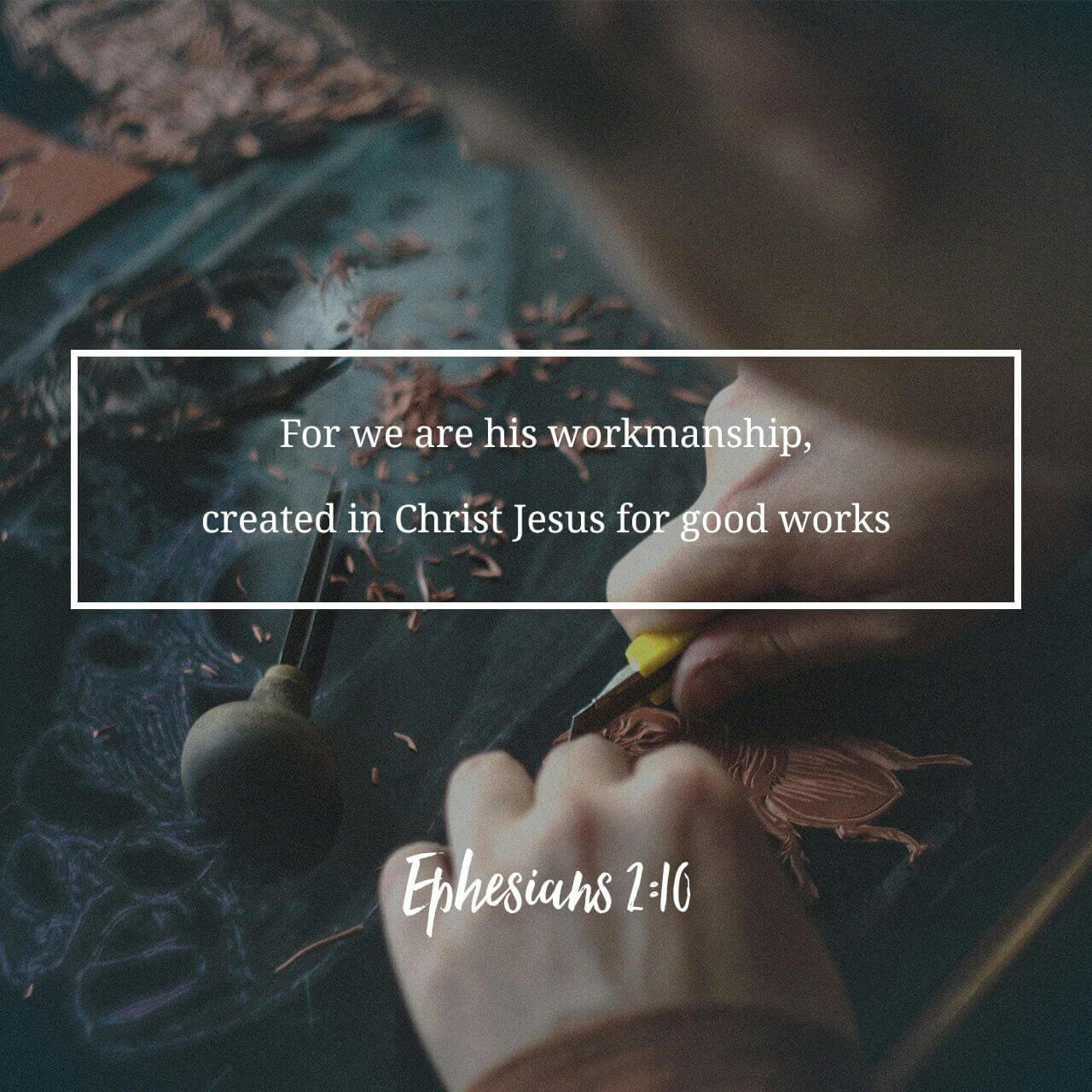 Ephesians 2:10 God's Masterpiece